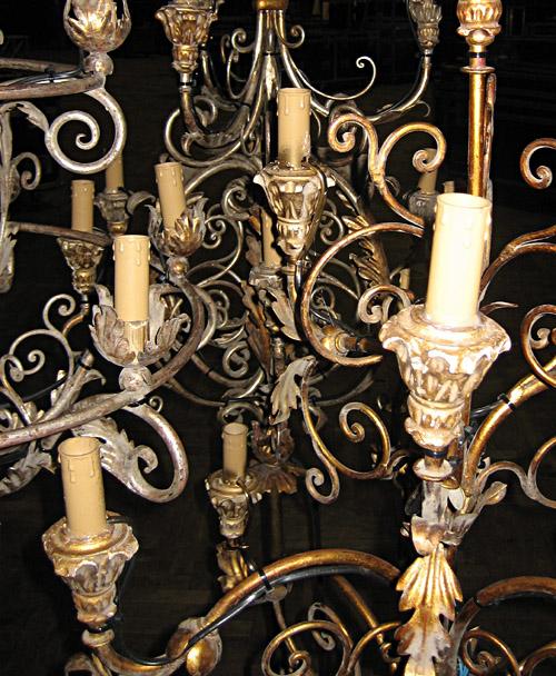Kerzenleuchter, die vielleicht bei der Annett Louisan - Tour eingesetzt werden sollen