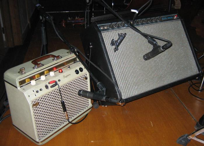 Friedrichs Amps: Suprem und Fender deLuxe Reverb