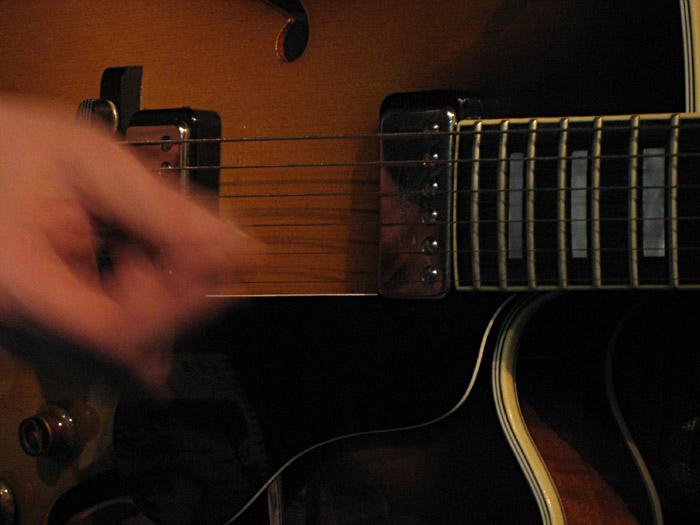 Hardys Gitarre