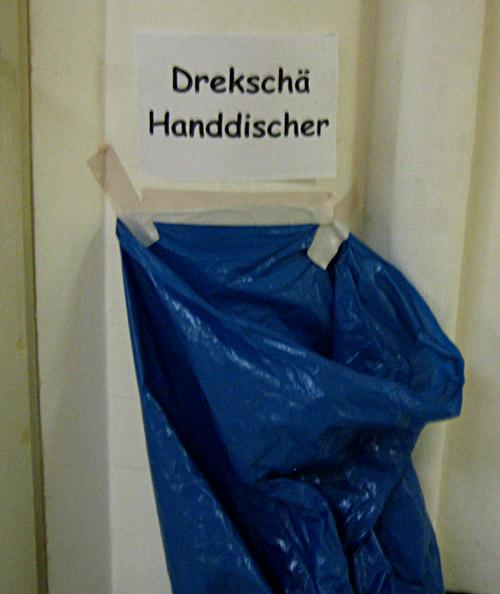 Handtüchersack