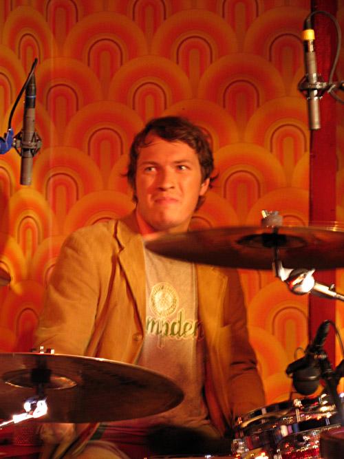 Der Drummer von David Huhn