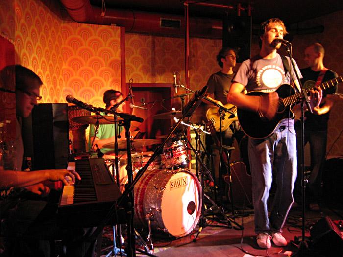 Die Band Langton im Hamburger Hörsaal