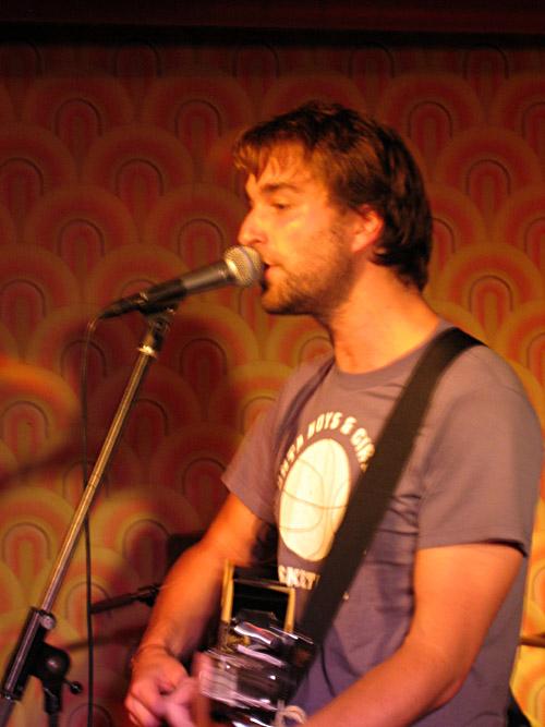 Die Berliner Band Langton im Hamburger Hörsaal