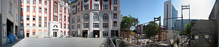 Der Hof des Admiralspalasts in Berlin