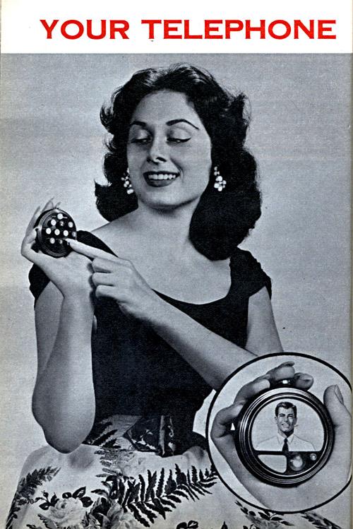 Telephonvisionen von 1956