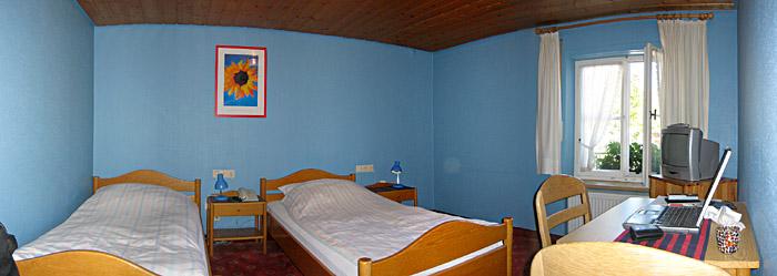 Mein Zimmer im Hotel Mainzer Tor in Waldenburg
