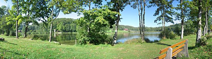 Der See, in dem ich schwimmen war