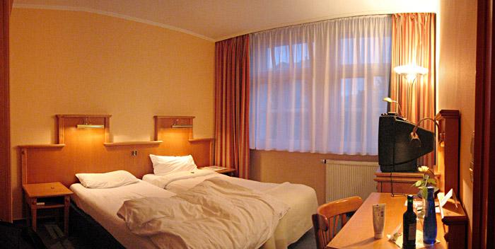 Mein Zimmer im Hotel Stadthaus in Paderborn
