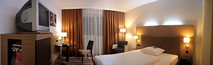 Mein Zimmer im Hotel Mercure in Graz