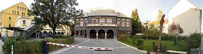 Das Orpheum in Graz von außen