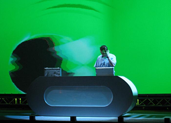 Der DJ beim Reca - Geburtstag
