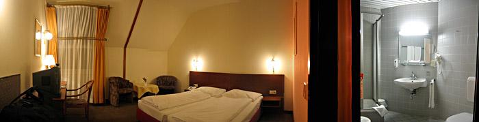Mein Zimmer im Hotel Atlantis