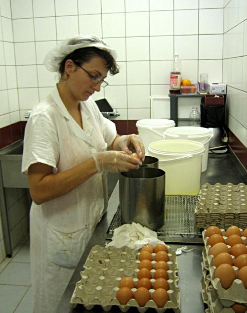 Herstellung der Sacher - Torte