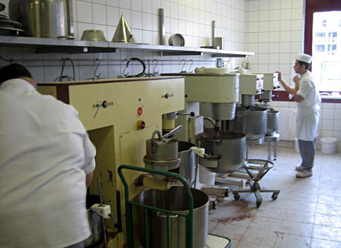 Die Herstellung der Sacher - Torte