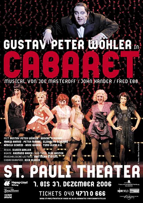 Plakat zu Cabaret