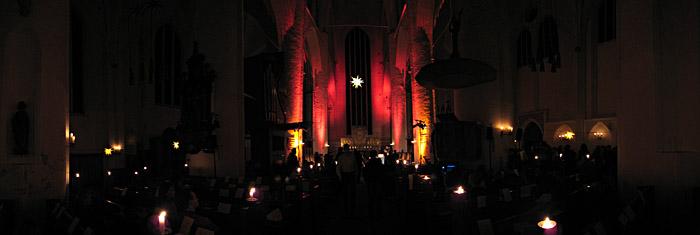 St. Katharinen in Hamburg in der Pause der Lausch Lounge