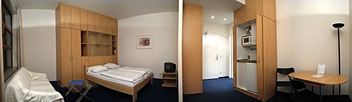 Mein erstes Zimmer im Hotel Residenz 2000 in Berlin