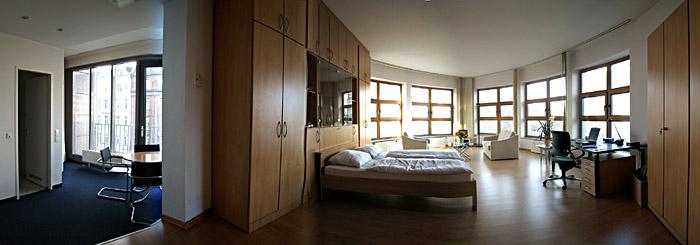 Mein drittes Zimmer im Hotel Residenz 2000 in Berlin