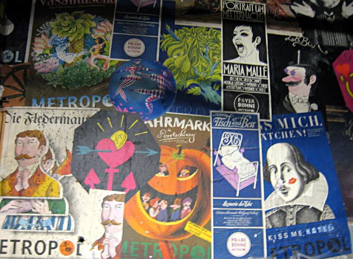 Plakate im Admiralspalast