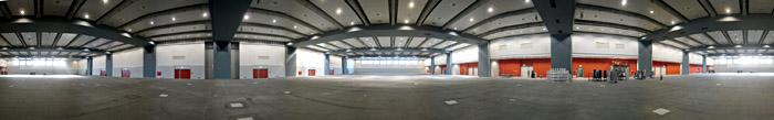 Die neue Halle H des CCH