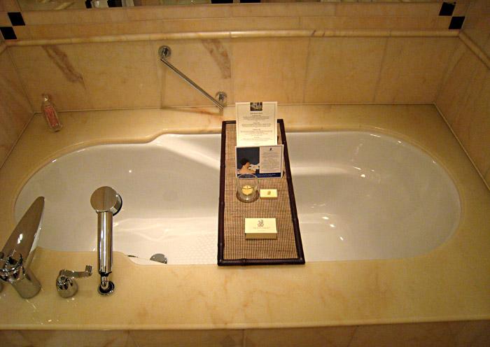 Meine Badewanne im Ritz