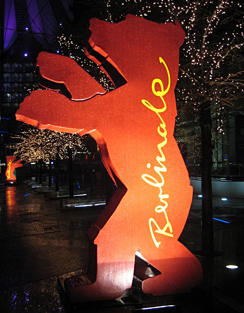 Logo der Berlinale am Potsdamer Platz