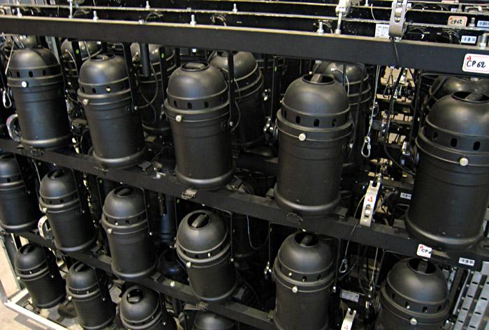Ein paar PAR64, so heißen diese Lampen