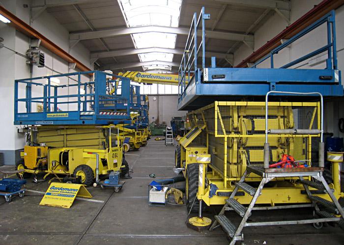 Die Werkstatt bei Gardemann