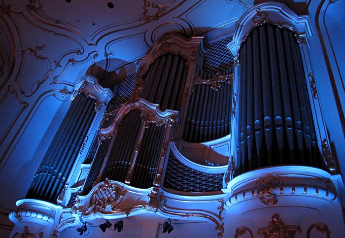 Die Orgel in der Musikhalle