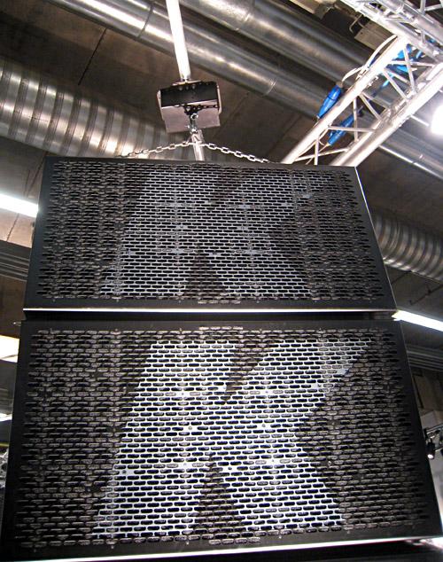 Cluster an 'nem Spiegelkugelmotor