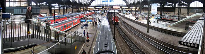 Der Hamburger Bahnhof. Für ein größeres Bild einfach draufklicken