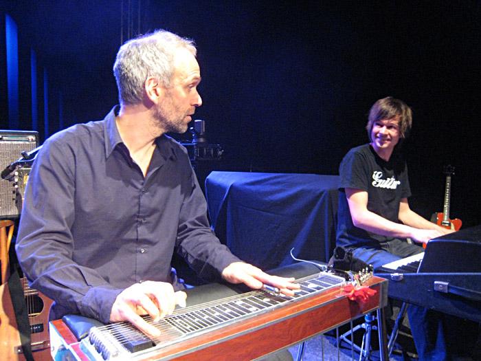 Soundcheck von Martin Gallop im Vamos! in Lüneburg