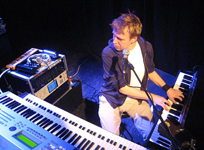 Soundcheck von Stefan Gwildis im Vamos! in Lüneburg
