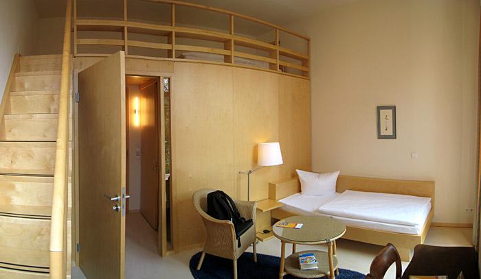 Mein Zimmer im van Delden Haus, Berlin; für ein größeres Bild einfach klicken