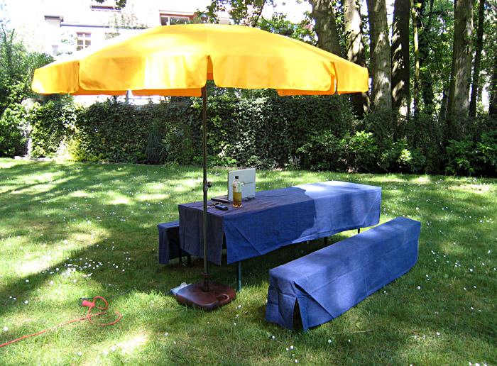 Büro in meinem Garten