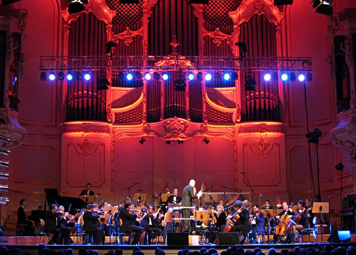Das St. Pauli Kurorchester in der Musikhalle Hamburg