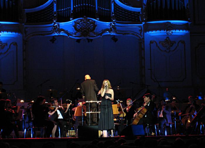 Kim Fischer mit dem St. Pauli Kurorchester