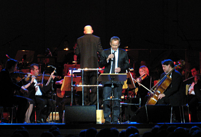 Reinhold Beckmann mit dem St. Pauli Kurorchester