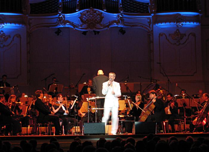 Thomas Hermanns mit dem St. Pauli Kurorchester