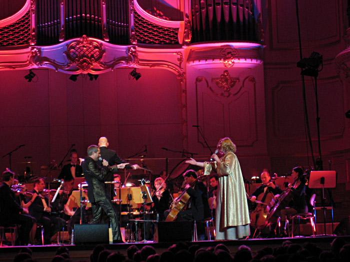 Thomas Hermanns und Emmi mit dem St. Pauli Kurorchester