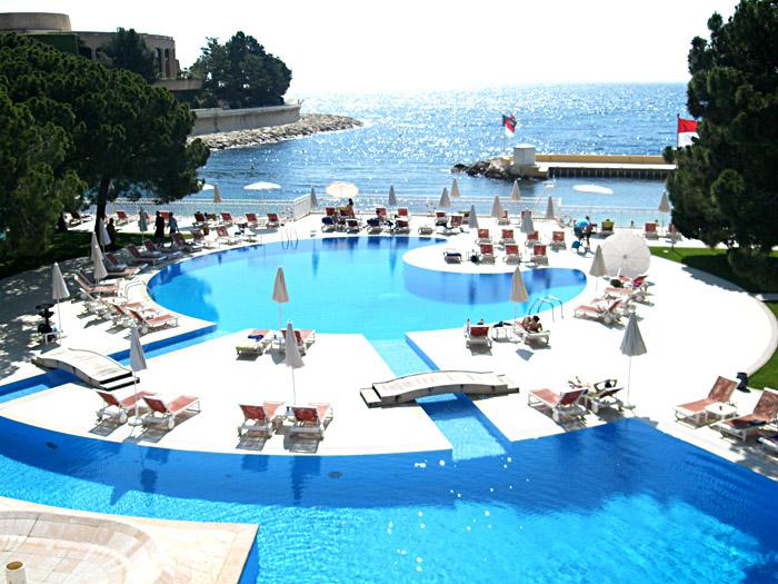 Blick auf's Meer in Monte Carlo