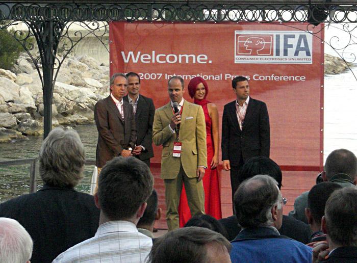 Eröffnung der IFA - Pressekonferenz