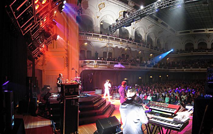 One night of Queen in der Musikhalle / Laeiszhalle Hamburg; für ein größeres Bild einfach klicken