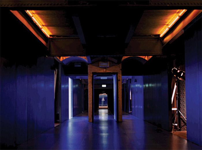 Der Flur der Hamburger Titanic - Ausstellung; Copyright: VTE GmbH