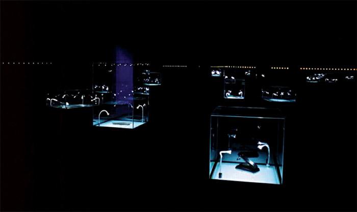 Raum der Stille in der Hamburger Titanic - Ausstellung; Copyright: VTE GmbH