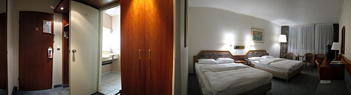 Mein Zimmer im Best Western Hotel Leverkusen; Bild größerklickbar