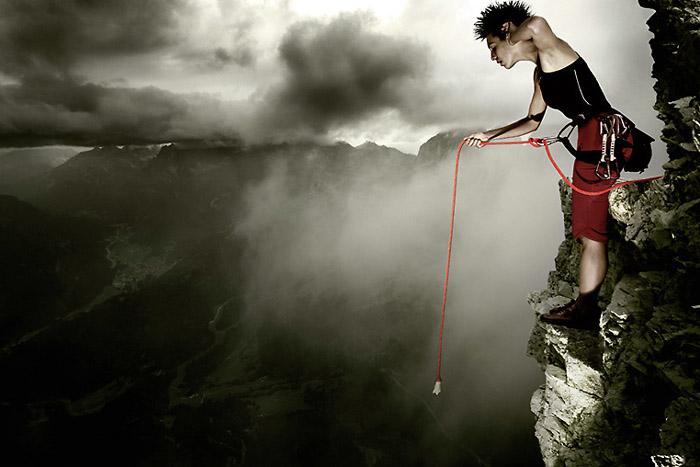 Der Berg ruft; Copyright: Uli Wiemeier