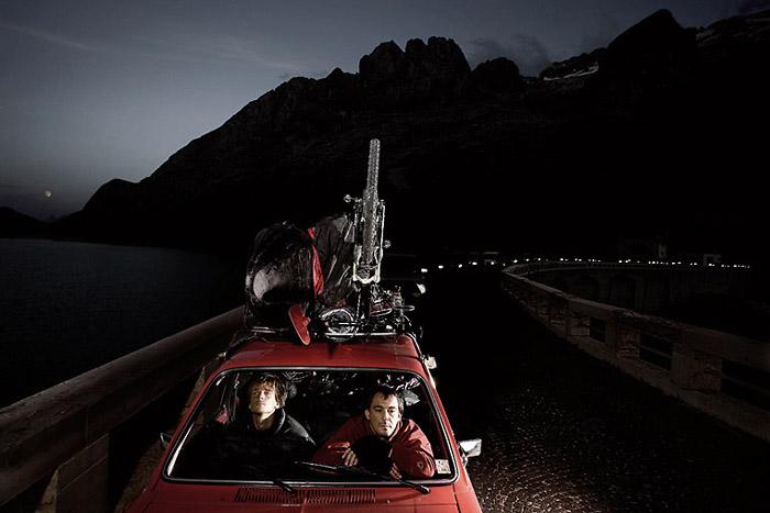 Der Weg ist das Ziel; Copyright: Uli Wiesmeier