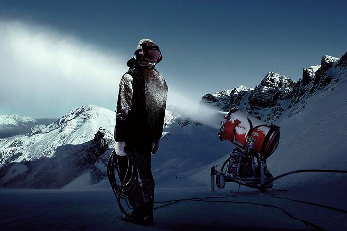 Leise rieselt der Schnee; Copyright: Uli Wiesmeier