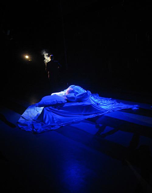 Im Bett mit Marilyn Monroe im Deutschen Schauspielhaus Hamburg